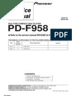 Pioneer PDF958 CD