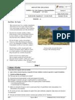 Teste Cesário Verde -Humanidades