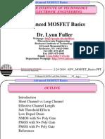 Adv Mosfet Basics