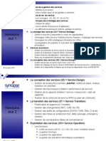 ITIL V3 Fondamentaux - révisions