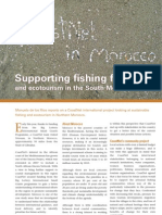 Supporting fishing families and ecotourism in the South Mediterranean, summer 2008