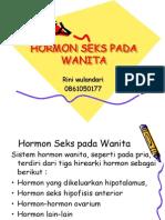HORMON SEKS PADA WANITA.ppt
