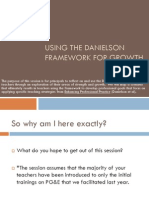 Using the Danielson Framework for Growth Principal PD