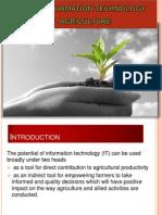IT Role Agriproduce Deepak XIMB