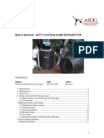 ARTI Biodigester Construction Manual AIDG 2009