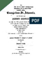 Jakob Lorber - Großes Evangelium Johannes Band 6 1875