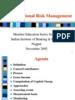 Operational Risk