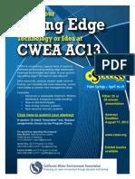 CWEA AC13 Cutting-Edge