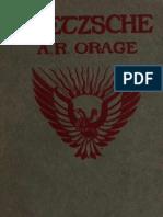 A.R.orage - Nietzsche, The Dionysian Spirit of the Age
