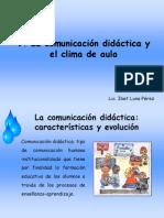 clima y comunicación en el aula