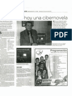 Presentara hoy una cibernovela...Elías Rodríguez Vázquez