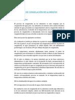 CURVAS DE CONGELACIÓN DE ALIMENTOS