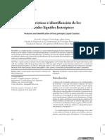 Características e identificación de los cristales líquidos liotrópicos