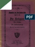 Neu-Salems Schriften, II. K - Die Religion