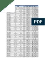 Programacion Deportes Colectivos InterEmpresas y Servicios Públicos 2012 - FUTSAL