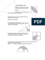 Lista de Exercícios__Áreas_geometria plana
