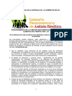 Revista Ecotopía sobre Río + 20