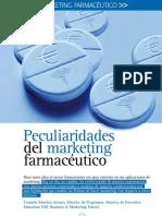 Peculiaridades Del Marketing Farmaceutico