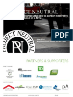 Neighbourhood Summit IDEAS Paper