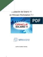 Instalación de Solaris 11