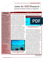 April 2012 CFAR Newsletter - On the Cutting Edge of HIV/AIDS Research at UNC