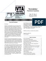 IVTA Summer2012 Newsletter