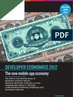 Developer Economics 2012 by  VisionMobile