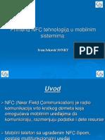 NFC tehnologija u mobilnim sistemima -Prezentacija