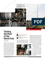 Tasting the Best of the North Fork, Bloomberg Markets July 2012