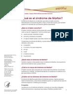 Marfan Syndrome Ff Espanol