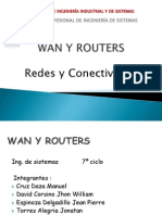 UNFV - Capitulo 10 - Redes WAN y Routers