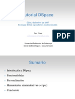 Gijon Tutorial Dspace