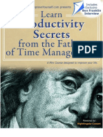 Ben Franklin Time Management