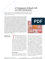 Diagnosis and Treatment of Basal Cell and Squamous Cell Carcinomas