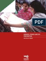 Gender Power and Hiv Prevention Tcm8-11326
