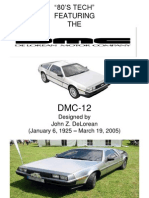 80's Tech- DeLorean DMC-12