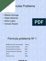 Formulas Problemas 1