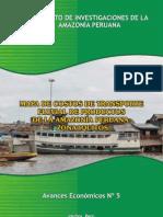 5 Mapa de Costos de Transporte Fluvial Zona Iquitos