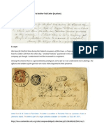 Moscow B. Carter Letter to brother Tod Carter, Mar 1st, 1864