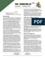 2006 Q4 Newsletter