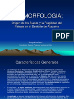 GEOMORFOLOGIA Desierto Atacama