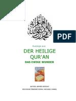 Der Koran Das ewige Wunder - Ahmed Deedat