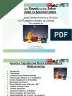 Asuntos Reg en Estabilidad de Medicamentos