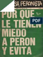 La causa Peronista. Revista Nº 4. Año 1, martes 30 de julio de 1974.