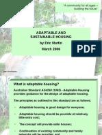 Adaptable Housing Presentation E Martin