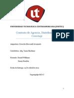 Contrato de Agencia, Distribucion y Corretaje