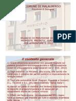 Slide Bilancio 2012