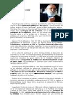 Paolo Freire y Su Pedagogia