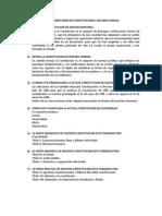 Cuestionario Derecho Constitucional Segundo Parcial