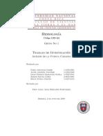 Trabajo de Hidrología - Cuenca Cabagra